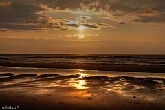 Sunset at Noordwijk (mfsd.co) Tags: sunset sea orange sun holland color primavera sol beach strand atardecer mar spring europa europe thenetherlands playa colores lugares holanda atardeceres naranja hdr havet noordwijk vr tecnica tecnicas