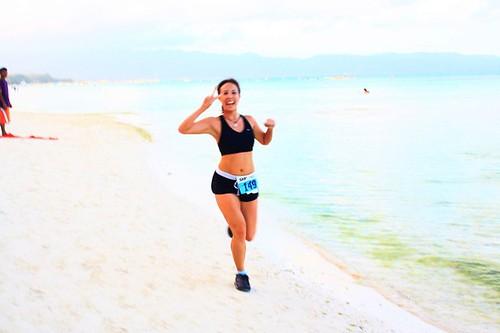 Skyathon Boracay Beach & Surf Run: Running