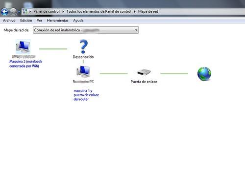 (Solucionado) Problemas al unir en red una pc con win7 y otr