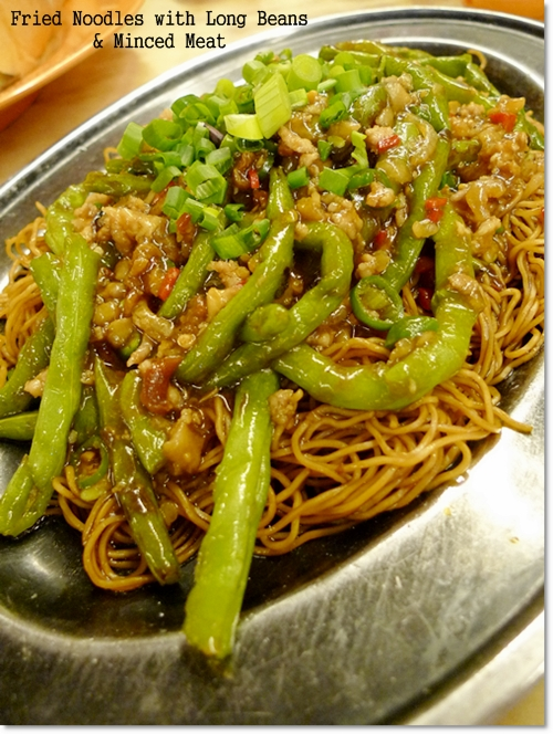 Fried Mee with Long Beans