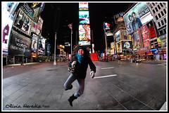 New Year in Times Square (Olivia Heredia) Tags: newyork us unitedstates timessquare hdr highdynamicrange nuevayork tonemapped tonemapping 1exp oliviaheredia oliviaherediaotero