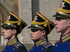 Soldiers of the Kremlin Guard, Moscow (Marc_P98) Tags: soldier uniform russia guard kremlin ceremonial