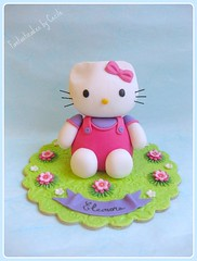 Topper Hello Kitty (Fantasticakes (Ccile)) Tags: hellokitty caketopper sugarmodelling tortedecorate