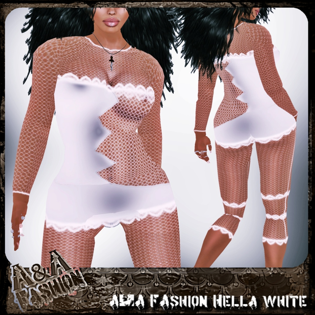 A&A FAshion Hella White
