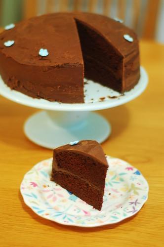 122/365 Gill's chocolate cake