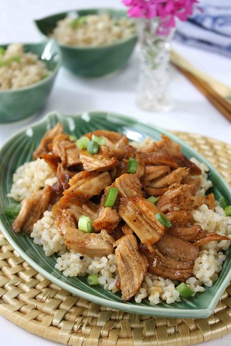 Braised Country Style Ribs Recipe in Ginger & Hoisin Sauce