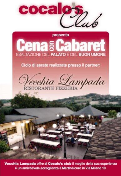 Cena con Cabaret - San Benedetto del Tronto (AP) - 7 Maggio 2010