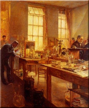 Pasteur's Laboratory