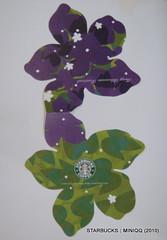 Starbucks台灣統一星巴克 油桐花隨行卡 (2008) 002