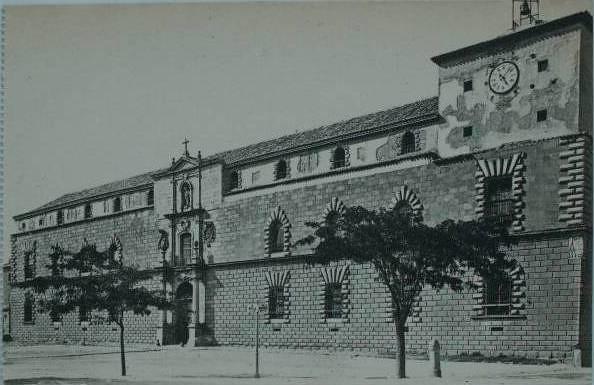 Hospital Tavera a principios del siglo XX