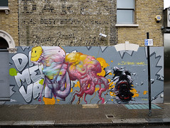 DMV Invasion | The final Mural, Photo : Jaw (Kan/DMV) Tags: london jaw dmv kan brusk bomk gxgallery damentalvaporz