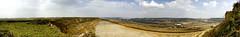 Tagebau Garzweiler 200° panorama 19Mpx (Lennert van den Boom) Tags: d50 germany nikon mine nordrheinwestfalen tagebau excavator bagger bwe garzweiler northrhinewestphalia rwe openpitmine lignite schaufelradbagger bucketwheelexcavator dagbouw