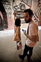 oops... (Barry Yanowitz) Tags: nyc newyorkcity streetart ny newyork pasteup art les poster graffiti mural manhattan wheatpaste lowereastside obey andrethegiant obeygiant shepardfairey nycity andrethegianthasaposse