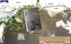 Deepwater Horizon Oil Spill - MODIS/Terra and TerraSAR-X (TSX) Images, May 1, 2010 (SkyTruth) Tags: gulfofmexico satellite bp radar modis oilspill tsx offshoredrilling transocean skytruth deepwaterhorizon