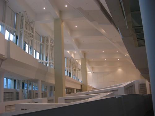 Interior Biblioteca (Cidade da Cultura)