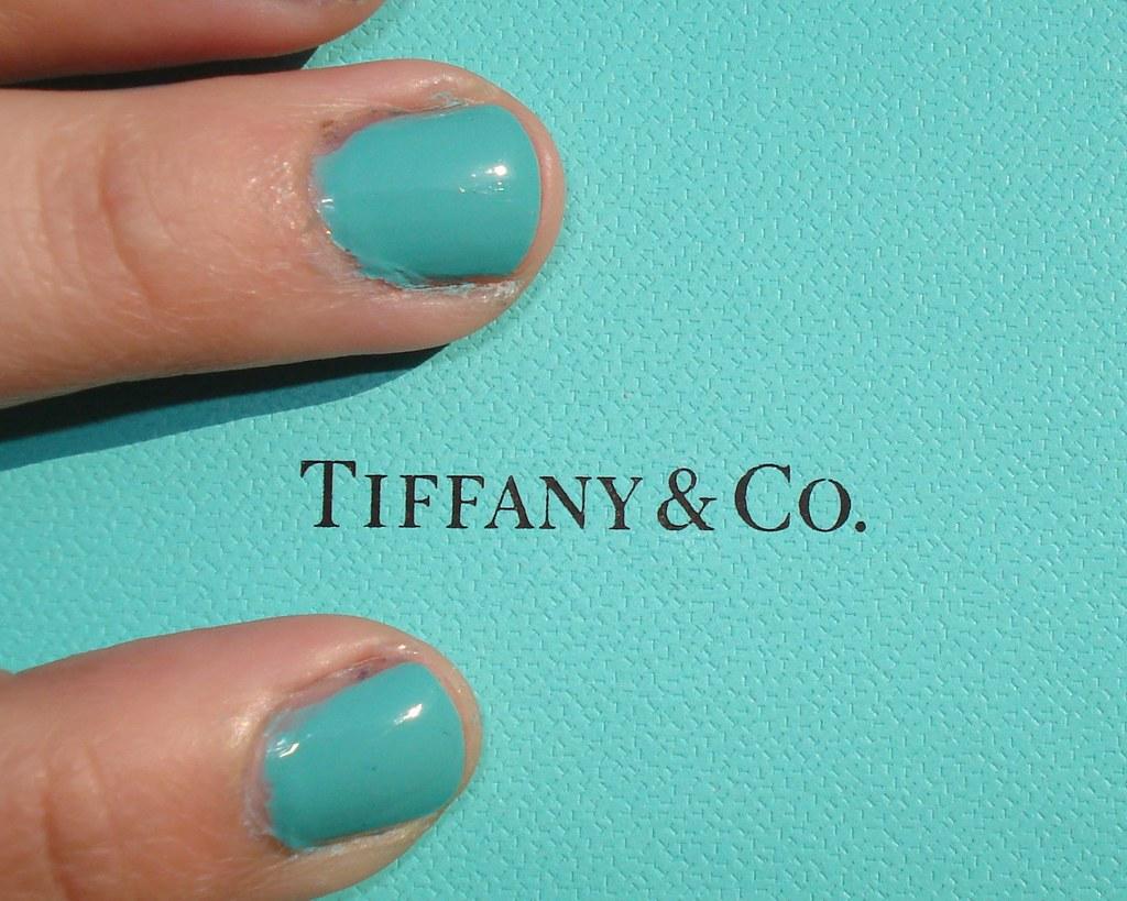 Tiffany Blue Nail Polish China Glaze - Absolute cycle
