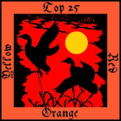 Top 25 Red, Orange and Yellow