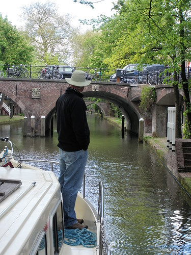 Canal  Boat - Holland