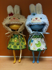 Bunnies in Disguise No. 1 (onion.bunny) Tags: