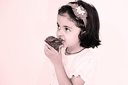 Eggless Chocolate Cream Cupcakes With Ferrero Rocher