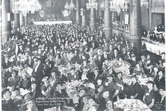 Banquet in The Gold Coast Room, 1939 (The Drake Hotel Chicago) Tags: royalty 1939 drakehotel goldcoast specialevents drake11 dopplr:stay=l231