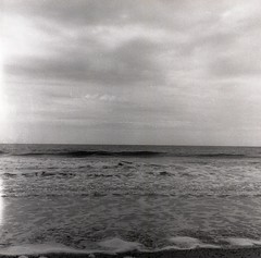 Divers 6x6 8 (YannickH) Tags: sea bw mer 6x6 film beach plage yashica argentique zeelande yannickh yannickhnet