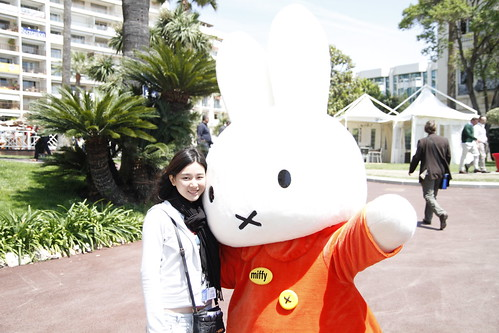 Fooi Mun with Miffy