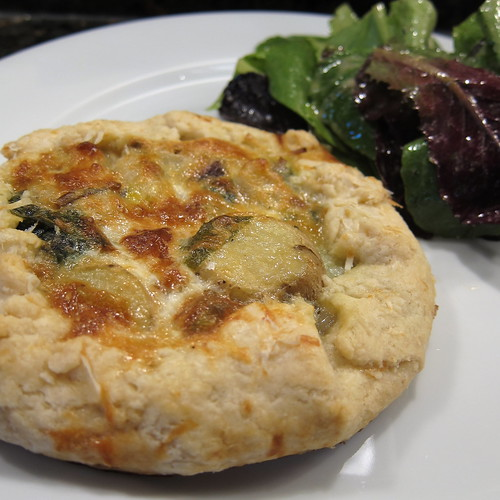 Ramp & Potato Tart