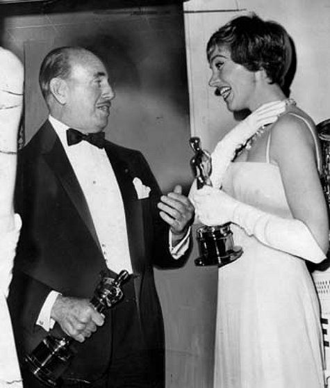 Jack Warner and Julie Andrews