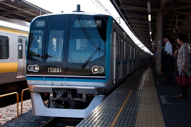 東京地下鉄東西線15000系15101F