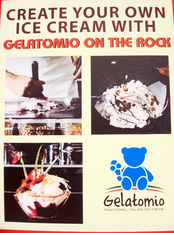 gelato on the rock