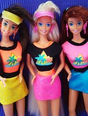 Glitter Hair Barbie 1994 (Chicomαttel) Tags: glitter hair barbie 1994 mattel inc