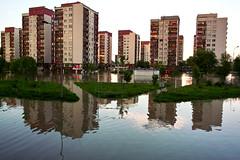 2010 flood, Kozanów, Wrocław, Poland