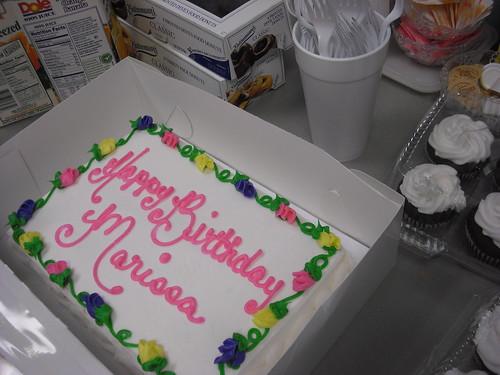 Birfday Cake!