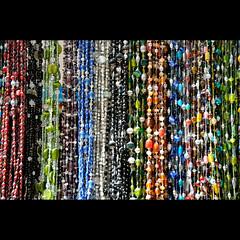 Beads (Dave-Mann) Tags: travel colour beads display market morocco maroc marocco souk colourful marruecos essaouira marokko necklaces marrocos fas travelphotography 18200mm marokk maroko     nothafrica      nikond300s