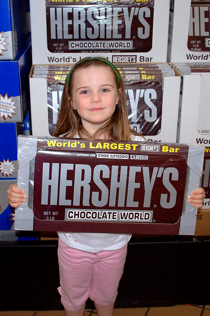 World's Largest Hershey's Bar