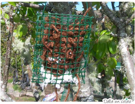 Dispensador para niños - Nesting material