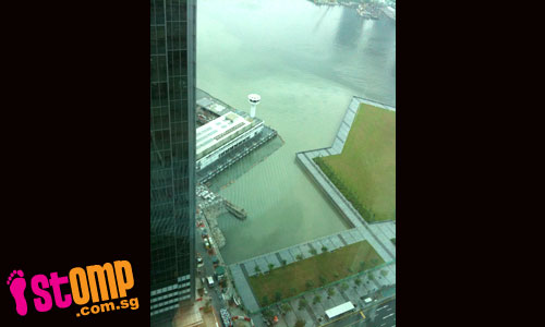 Water discolouration at Marina Bay worsens as pollution increases