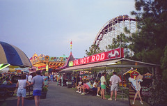 Jr. Hot Rod and Musik Express rides at Miracle Strip Amusment Park, Panama City Beach Florida (stevesobczuk) Tags: