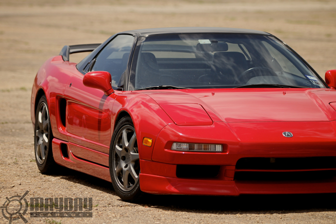 With classic Aero, this NSX is still looking great..