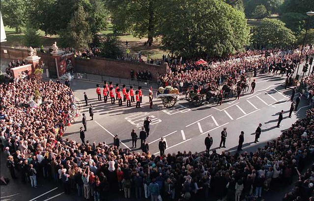 Princess Diana Funeral by Linus Moran