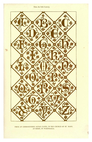 002-siglo XIV-The hand book of mediaeval alphabets and devices (1856)- Henry Shaw