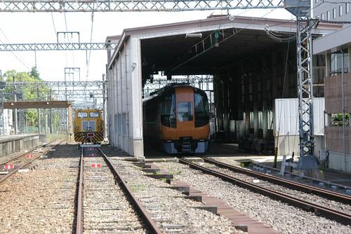 Kintetsu16600series in Kashiharajingu-mae sta,Kashihara,Nara,Japan /May 29,2010