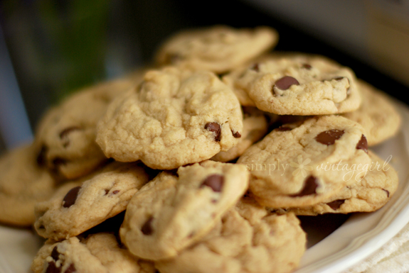 G-Free Chocolate Chip Cookies