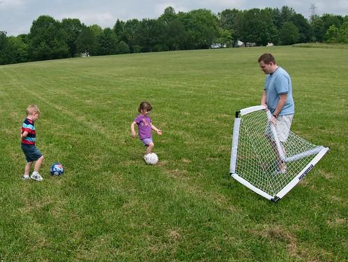 Improv soccer