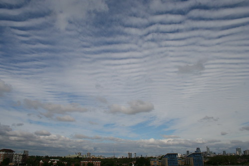 Clouds over London