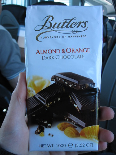 Buttlers Orange and Almond Bar