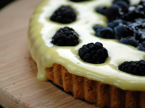 Lime-Berry Tart Drip