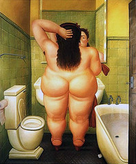 Botero.The_Toilet__1989