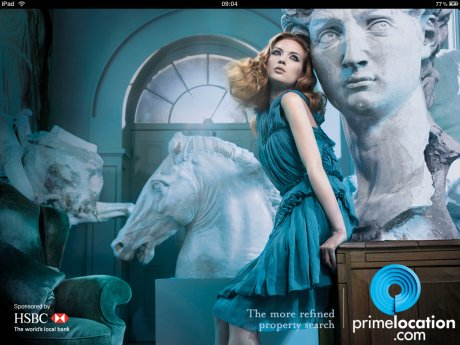 Primelocation for iPad